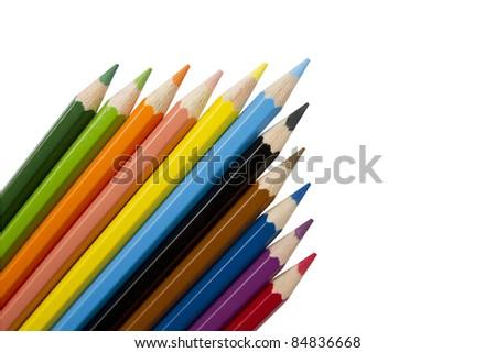Crayon - stock photo