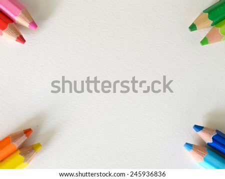 Crayon angle presentation background  - stock photo