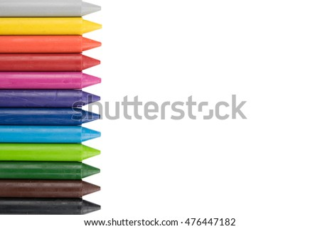 crayon, colorful, background