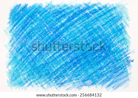 Crayon scribble background - stock photo