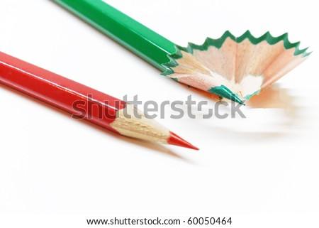 crayons - stock photo