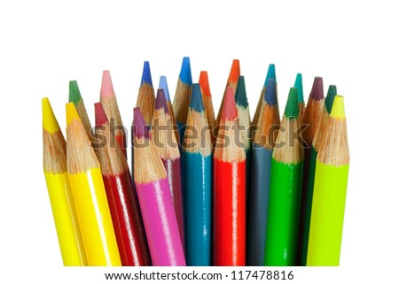 Crayons in a Bunch