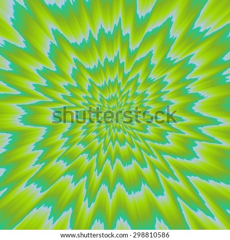 Crazy colored abstract shapes useful as nice background - stock photo