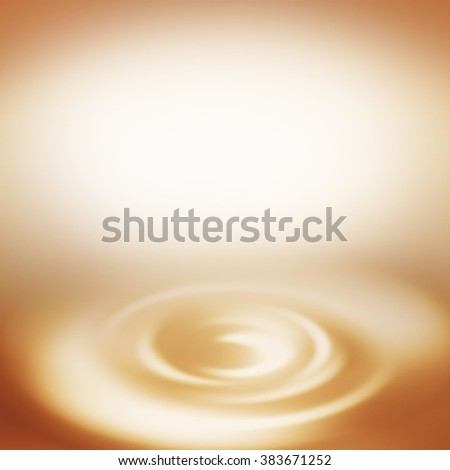 cream background beige swirl and copy space to insert text or design - stock photo