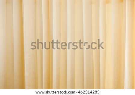 Cream Colored Cloth, Beige Curtain Fabric Texture And Background.