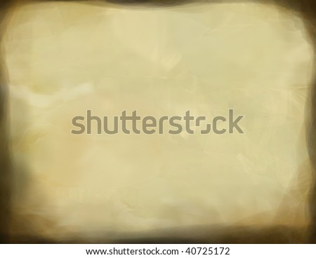 cream marble slab with old darkened edges - stock photo