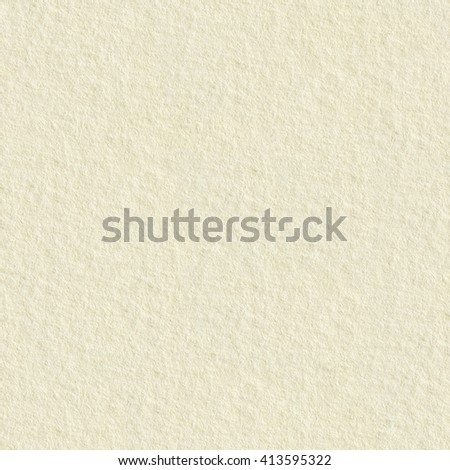 Cream paper. Seamless square texture. Tile ready. - stock photo