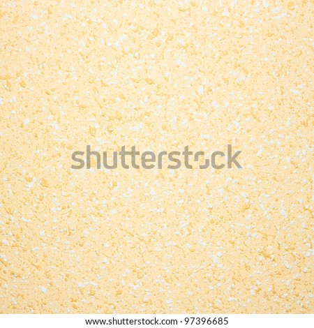 creamy and white wall background plastered bright texture - stock photo