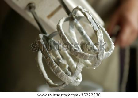 creamy mixer - stock photo