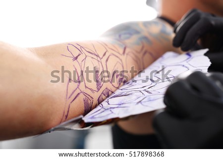 tattoo tracing paper How to use tattoo transfer paper if you're going to get a tattoo and have picked out the line drawing you want, you may be wondering how the artist transfers the.