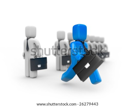 Creation of new business. Different concept - stock photo