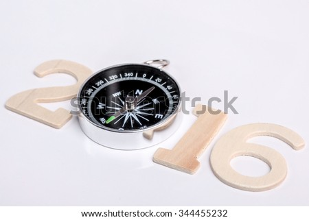 Creative happy new year design. - stock photo