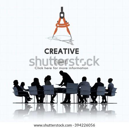 Creative Ideas Design Imagination Invention Concept - stock photo