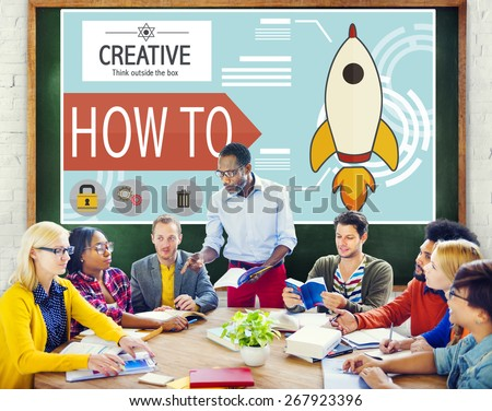 Creative Innovation Development Growth Success Plan Concept - stock photo