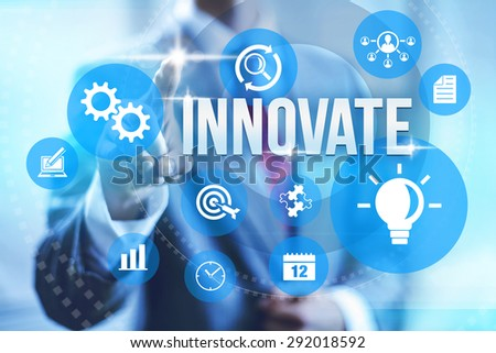 Creative innovation effectiveness concept illustration  - stock photo