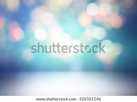 Creative technological background.Clear empty room or studio background - stock photo