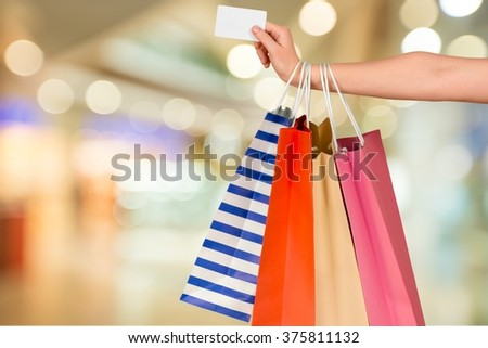 Credit Card. - stock photo