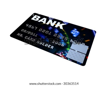 Credit card and debit cards