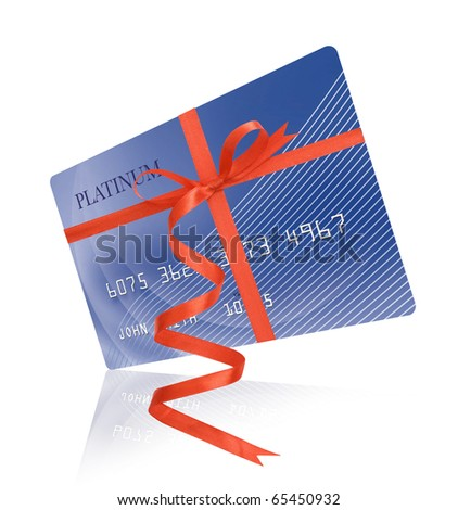 Credit card as present