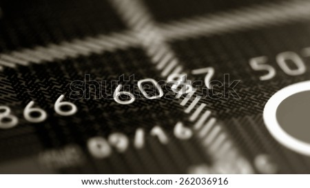 Credit card background abstract.