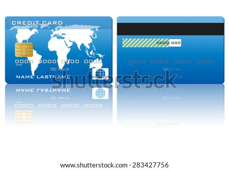 credit card illustration.