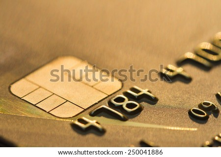 credit card : marco - stock photo