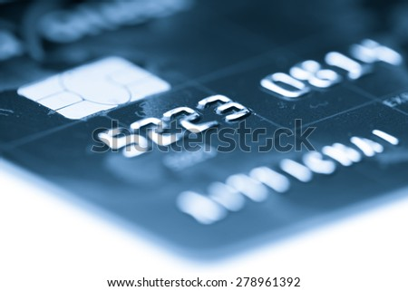 Credit card payment, shopping online - stock photo