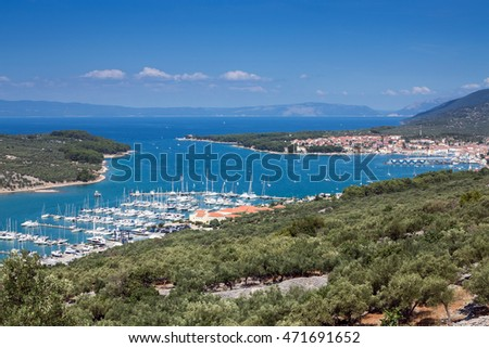 Cres city view, Croatia