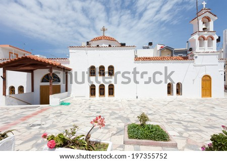 Crete - Greece - Afendis Christos - stock photo