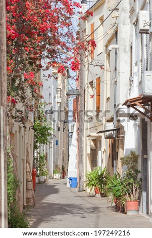 Crete - Greece - Tranqulity in Chania - stock photo