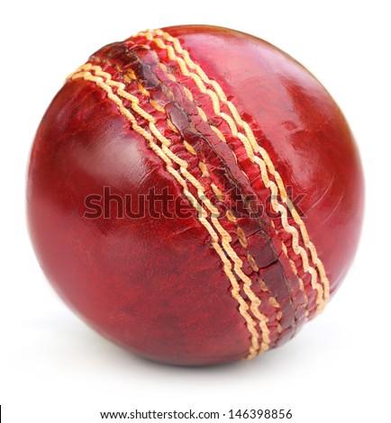 Cricket ball - stock photo