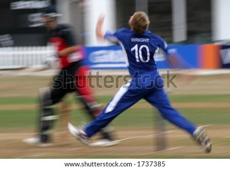 Cricket Match - stock photo