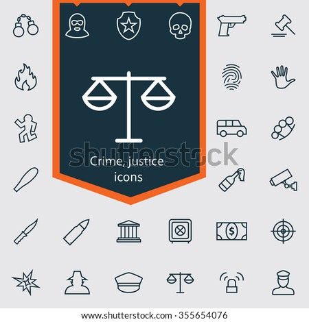 criminal justice outline Learn more about criminal justice careers with stratford's convenient and affordable home study course enroll today.