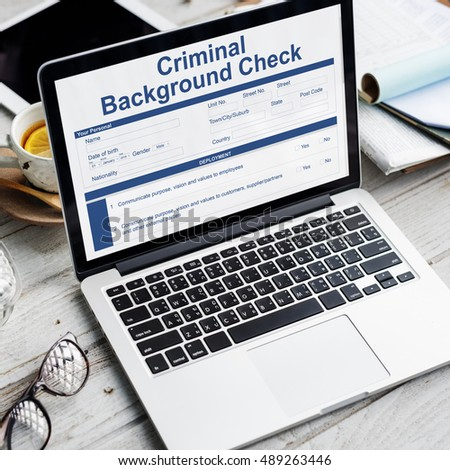 Criminal Background Check Stock Images, Royalty-Free Images