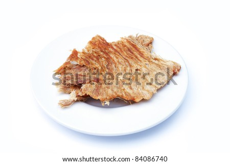 crispy pork - stock photo