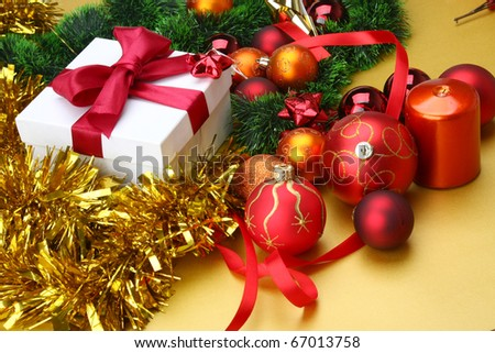 Cristmas Card - stock photo