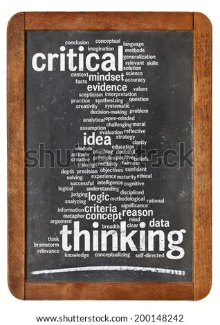 Problem Solving      Critical Thinking enables a person to solve        Individual Decision Making