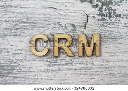 Crm Stock Photo Royalty Free 324988832 Shutterstock