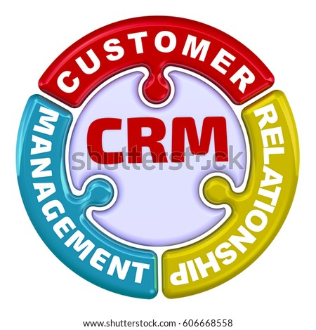 Crm Customer Relationship Management Inscription Crm Stock