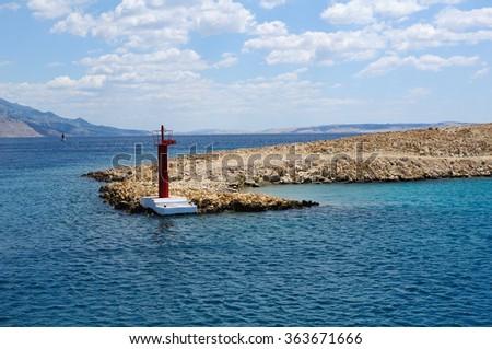 Croatia - Rab island  - stock photo