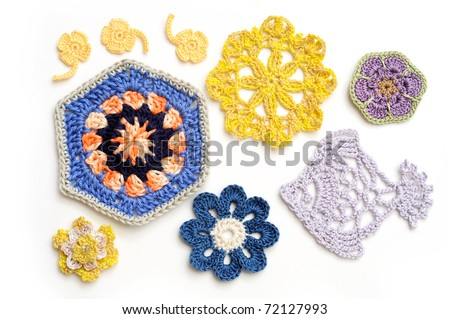 Crochet Stitches Vector : Knitting Stitches Stock Photos, Illustrations, and Vector Art