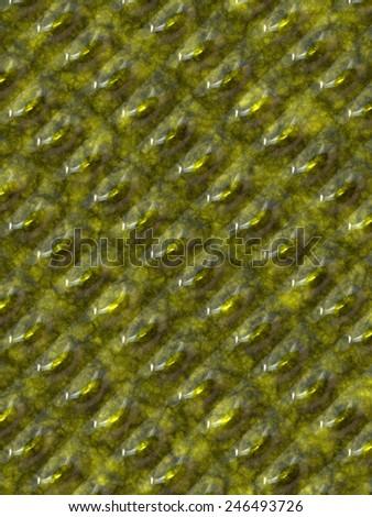 Crocodile-like skin - stock photo