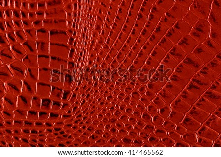 Crocodile red texture