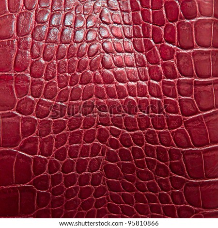crocodile skin texture in red color