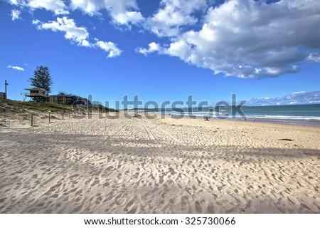 Cronulla beach - stock photo