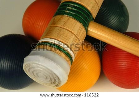 Croquet - stock photo