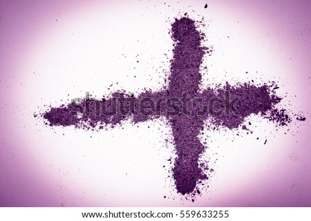 Cross made ashes ash wednesday lent stock photo 559633255 shutterstock - Wallpaper for lent season ...