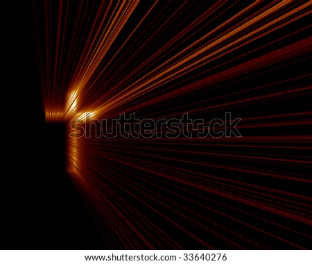 Cross Red Lights - stock photo