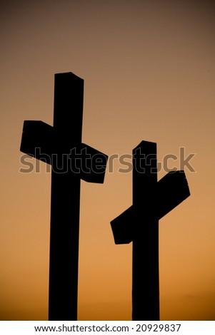 crosses - stock photo