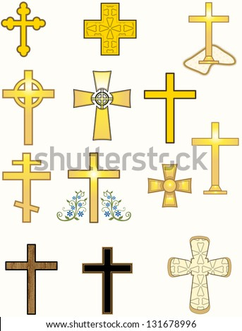 Crosses/ group of all kinds of crosses
